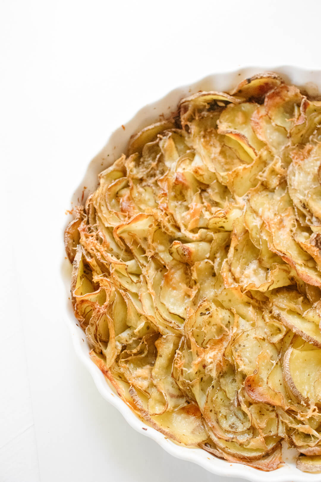 Crispy Ribbon Potatoes Recipe