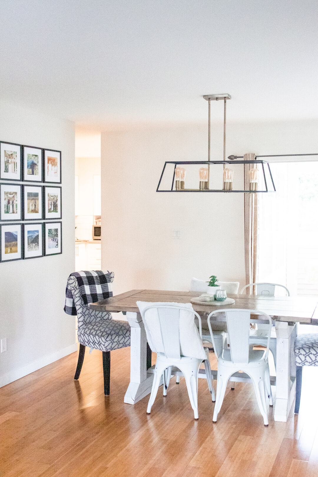 Home Tour Series: Our Morern Farmhouse Dining Room width=