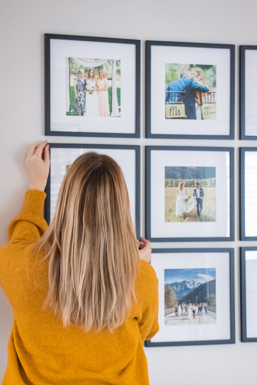 The Easiest Way to Hang a Gallery Wall