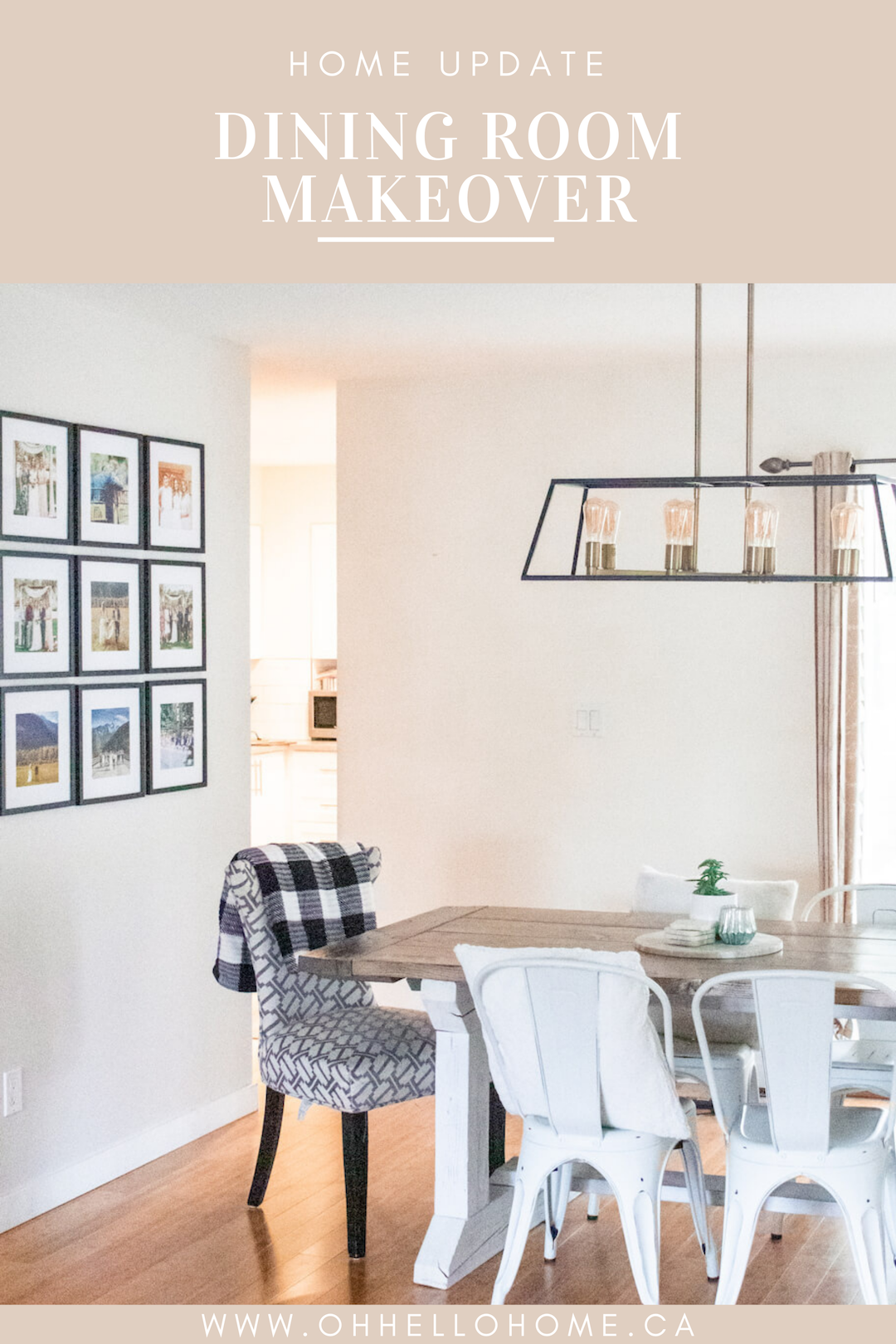 Home Tour Series: Our Modern Farmhouse Dining Room