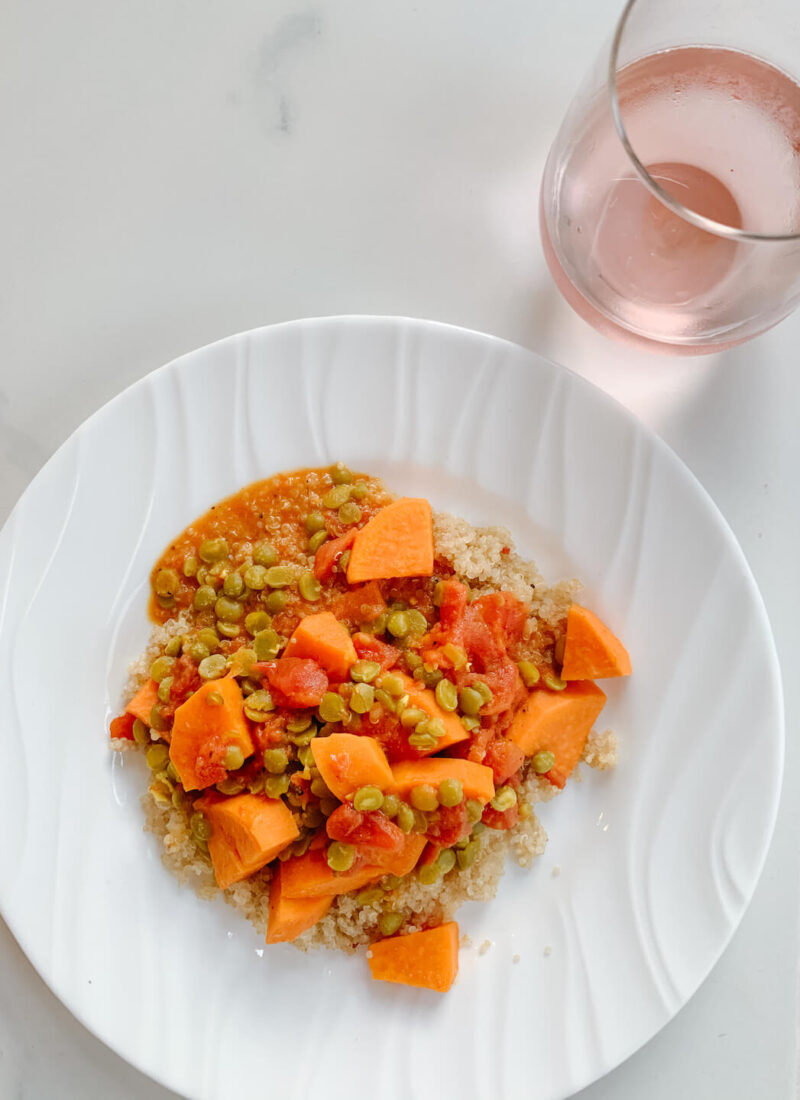 Sweet Potato and Lentil Curry Recipe