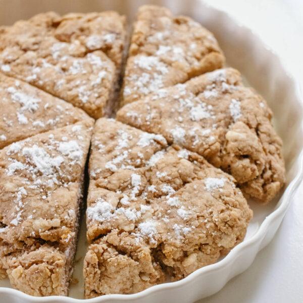 Crumbly Cinnamon Scones Recipe   30 Minute Recipes